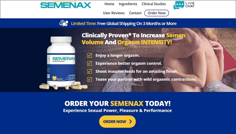 "Where to Buy Semenax: Get Up To 58% OFF ""LIMITED TIME"""